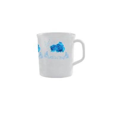 Melamine France Mug – Rose Flower