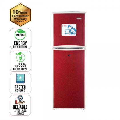 Refrigerator 138 Ltr Singer Red
